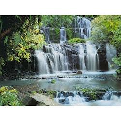 Diamanttavla Cascade Waterfall 40x50