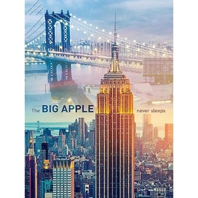 SNART I BUTIK - Diamanttavla Big Apple 40x50