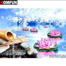 Diamanttavla (R) Lotus Dream 40x50