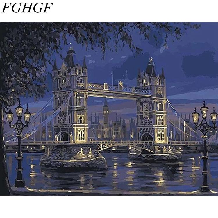 Paint By Numbers London Bridge
