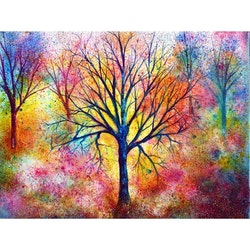 Diamanttavla Dream Tree 40x50