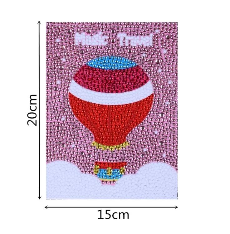 Diamanttavla Med Ram Balloon 15x20