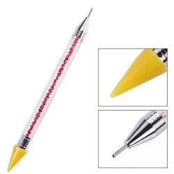 Lyxig Diamond Painting Pen Blå