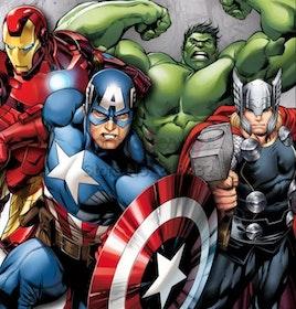 SNART I BUTIK - The Avengers Super Hero 50x50