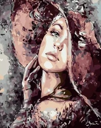Paint By Numbers Lady Elegance 40x50