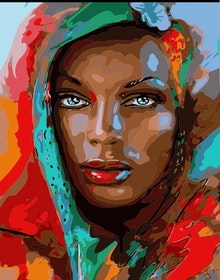 Paint By Number Beauty 40x50