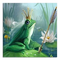 Diamanttavla Frog Princess 40x40