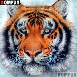 Diamanttavla Beautiful Tiger 40x40