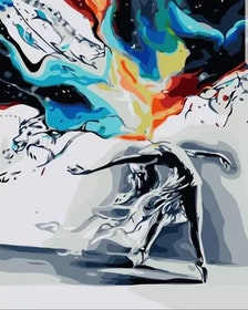 Paint By Numbers Dancing In Colors