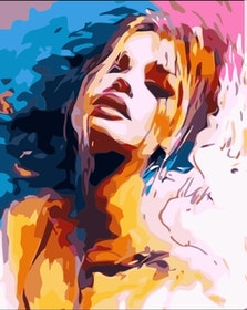 Paint By Numbers Color Woman 40x50