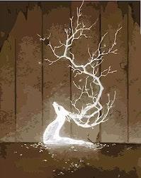 Paint By Numbers Deer mystic 40x50