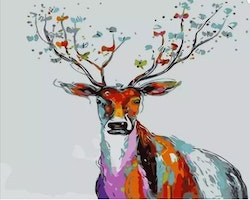Paint By Numbers Deer 40x50