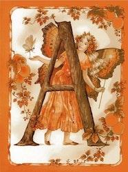 Diamanttavla Fairy Letter A