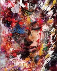 Paint By Numbers Woman All This Colors