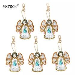 Nyckelring Angel 5-Pack