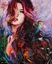 Paint By Numbers Nature Girl 40x50