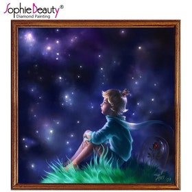 Diamanttavla Prince of Stars 40x40