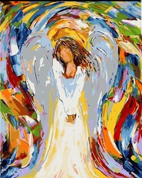 Paint By Numbers Color Angel 40x50
