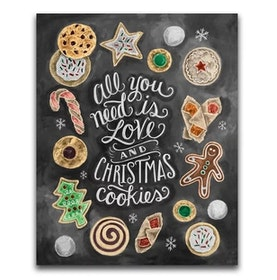 Diamanttavla Christmad Cookies 40x50