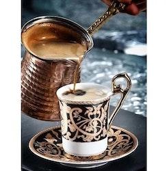Diamanttavla Coffee Arabic 40x50