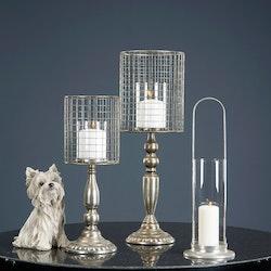 Lampa Till Blockljus Kelly Silver 16x46