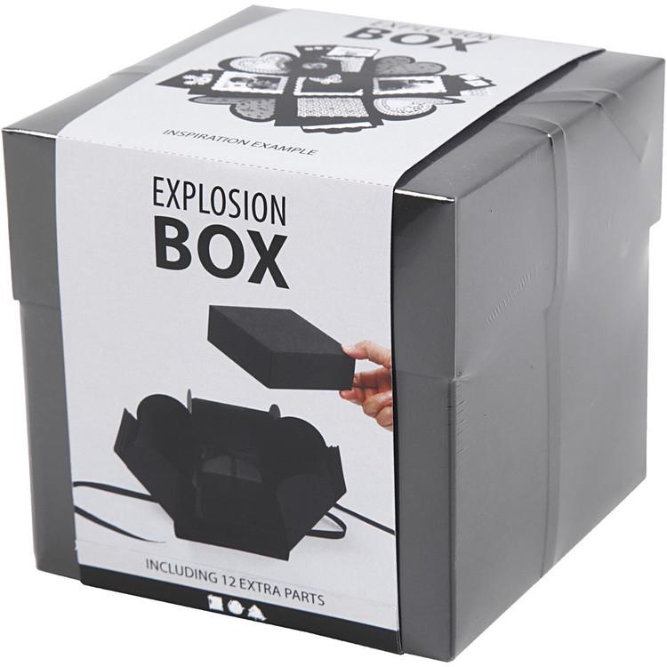 Exploding Box Svart - Leveranstid 1-3 Dagar