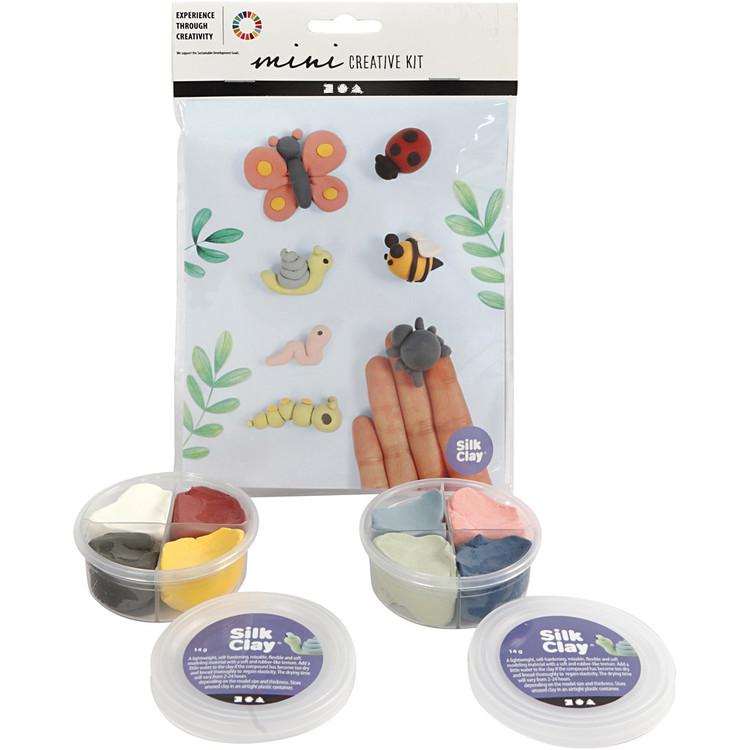 Mini Kreativ Set Modellering Insekter