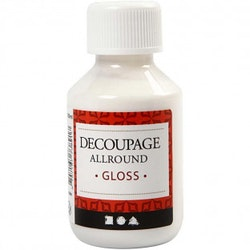 Decoupagelim Glans Allround 100 mml
