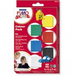 Fimo Kids Clay Standardfärger 6x42