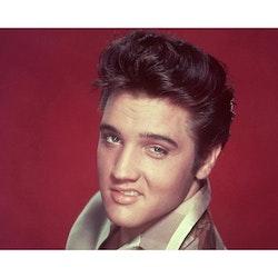 Diamanttavla Elvis Red 40x50