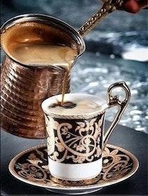 Diamanttavla Orient Coffee 30x40