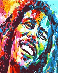 Paint By Numbers Bob Marley 40x50