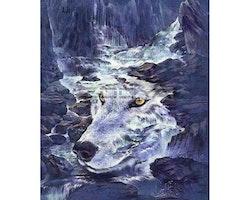 Diamanttavla Wolf River 50x70