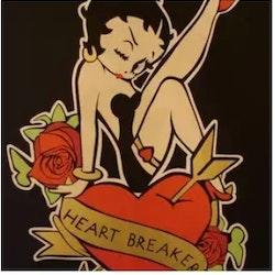 Diamanttavla Betty Boop Heartbreaker 40x50