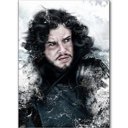 Diamanttavla John Snow 40x50