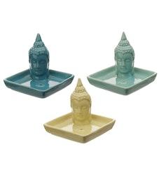 Rökelsehållare Eden Keramik Thai Buddha Beige