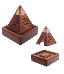 Rökelsehållare (Koner) Pyramid Buddha Design