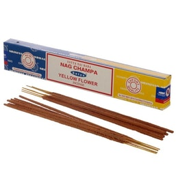 Rökelse Satya Nag Champa & Yellow Flower