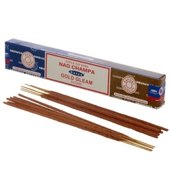 Rökelse Satya Nag Champa & Gold Gleam
