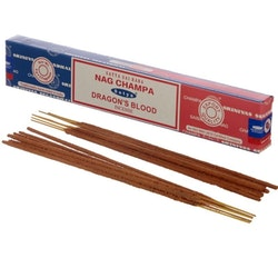 Rökelse Satya Nag Champa & Dragons Blood