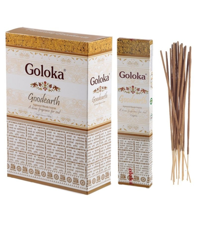 Rökelse Goloka Masala Goodearth Agarwood