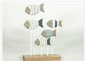 Fiskstim I Trä