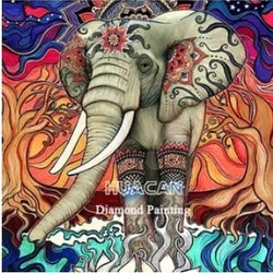 Diamanttavla Mandala Elephant 40x50