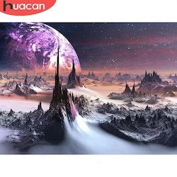 Diamanttavla Universe Landscape 50x70