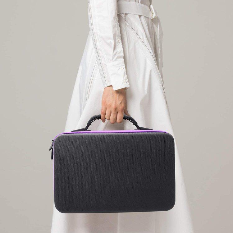 Pärlförvaring Väska Lila Med  60 Burkar