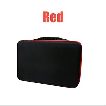 Pärlförvaring Väska Röd Med 60 Burkar
