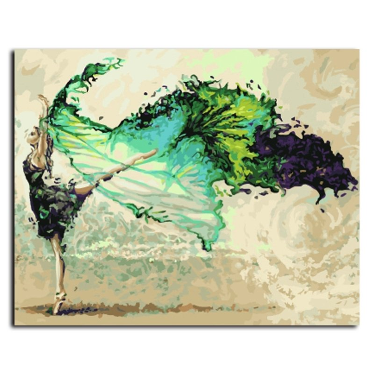 Paint By Numbers Dance Elegance 40x50