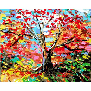 Paint by Numbers Color Tree 40x50