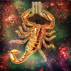 Diamanttavla Scorpion 40x40