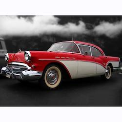 Diamanttavla (R) Old American Car 50x70